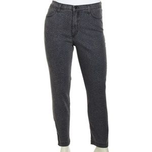 Denim - NYDJ Audrey Leopard-Print Jeans